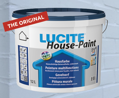 Lucite House-Paint